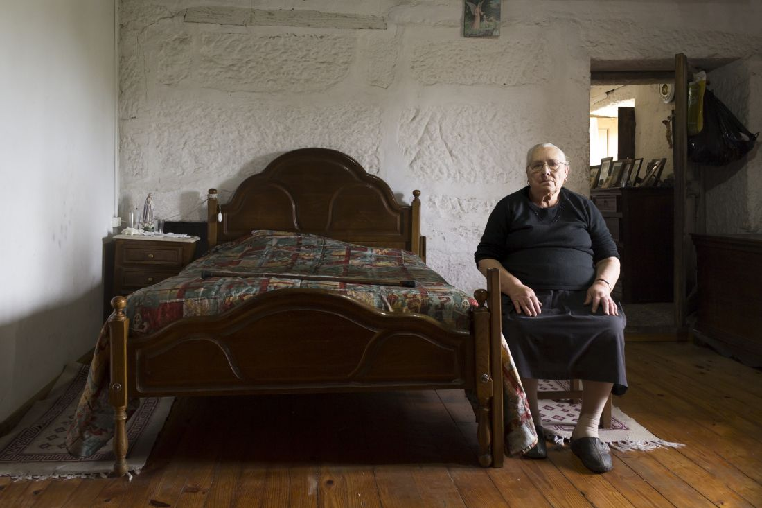 Poignant photographs by Sara Lopes that document Portugal's ageing population