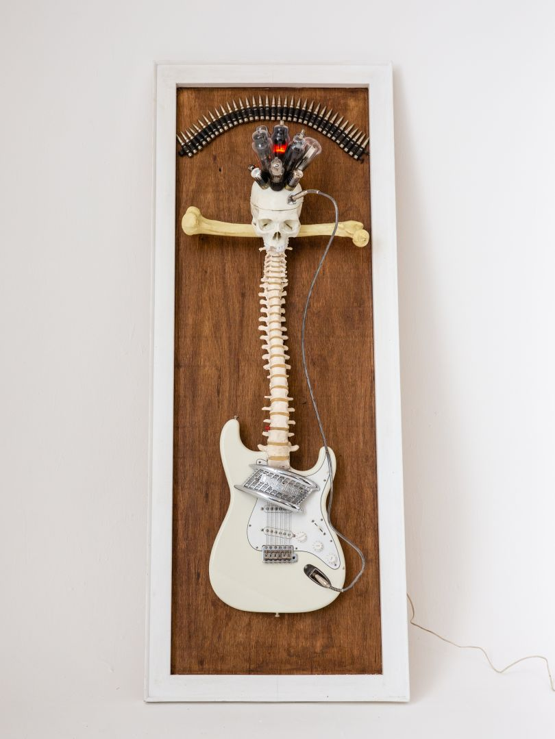 Guitar by Joe Rush. Image © Louise Haywood-Schiefer