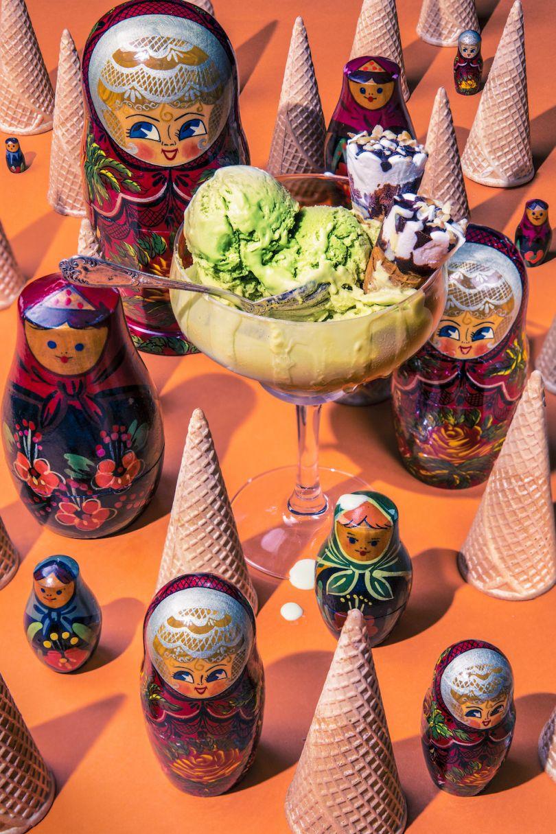Vladimir Putin / Pistachio Ice-cream - © Dan Bannino