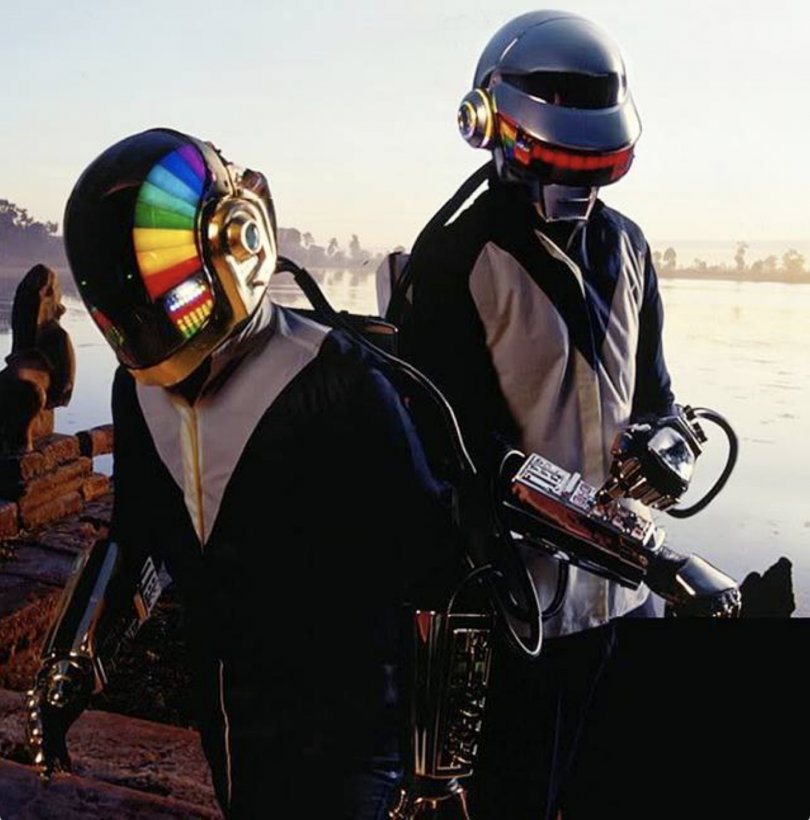Original gauntlets and helmets (Courtesy of Tony Gardner)