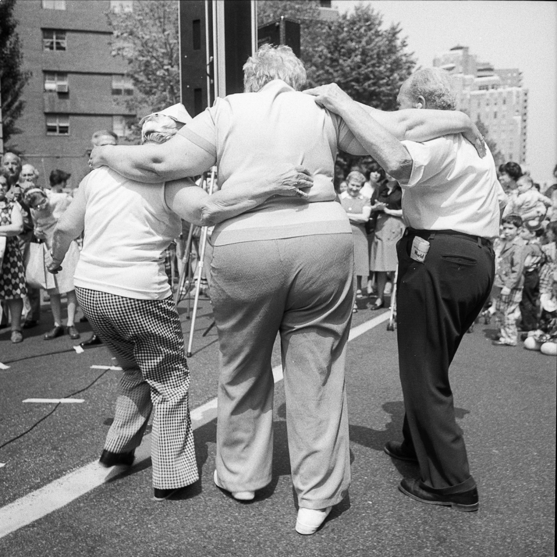 Dancing at The Lower East Side Street Festival, NY, June 1978 © Meryl Meisler