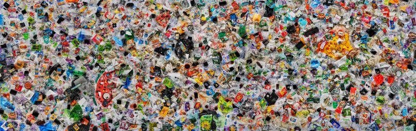 'Everyday Plastic' by Daniel Webb. Photo © Ollie Harrop 2018. Image courtesy of Everyday Plastic.