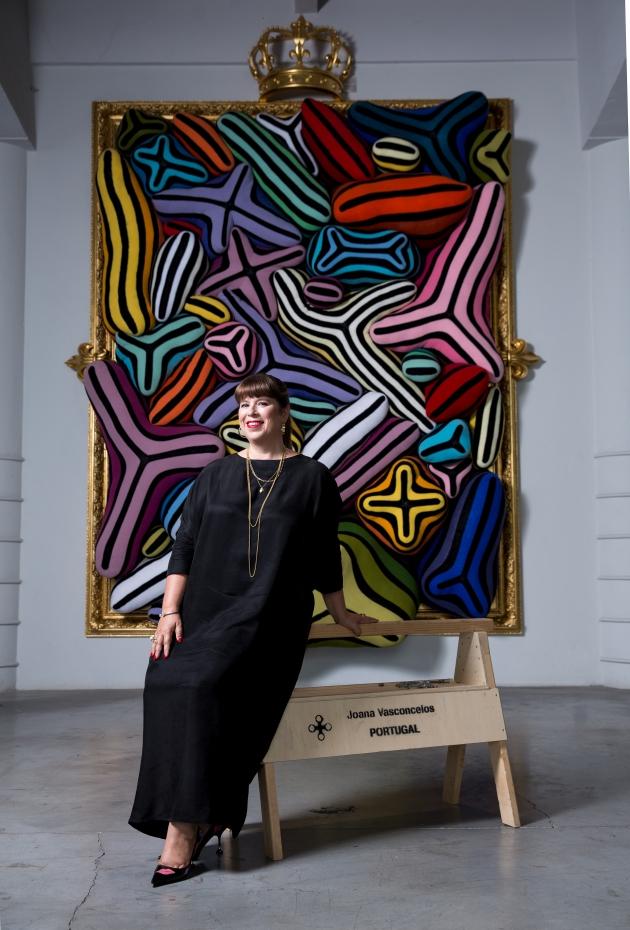 Joana Vasconcelos – Crédito fotográifco: Kenton Thatcher