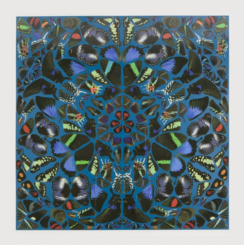 Butterfly Psalms by Damien Hirst