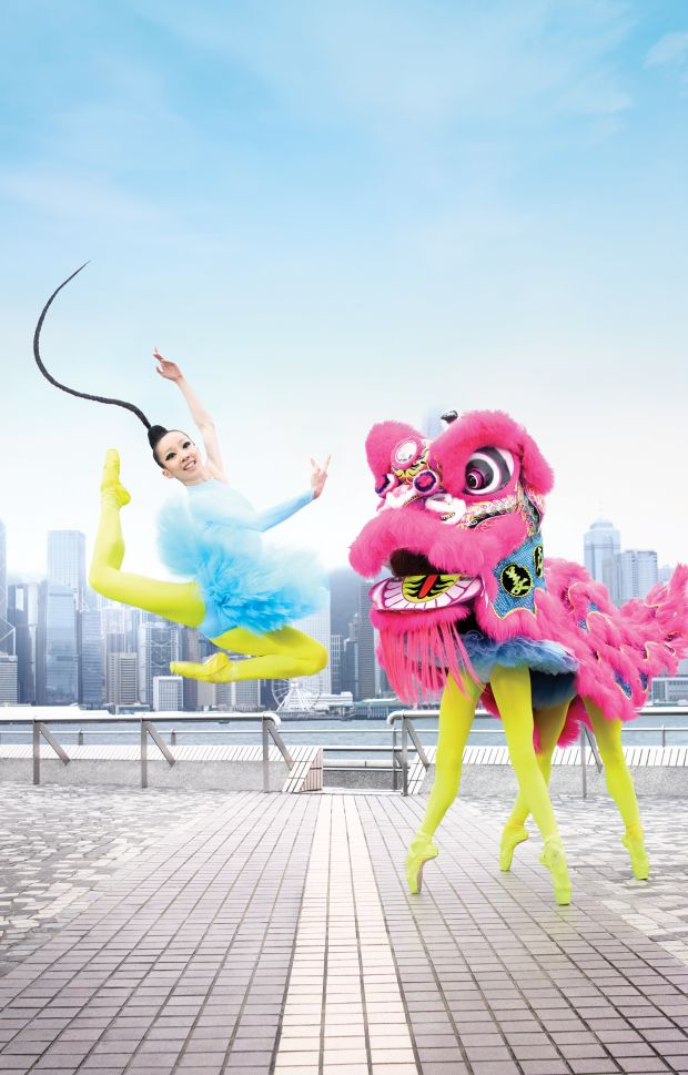 © Design Army / Hong Kong Ballet. Photography by Dean Alexander. All images courtesy of Design Army