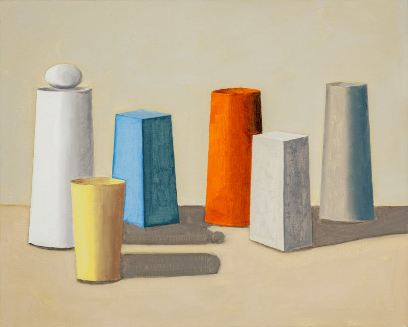 A Yellow Cup, oil on linen, 2020 © Paul Gervais