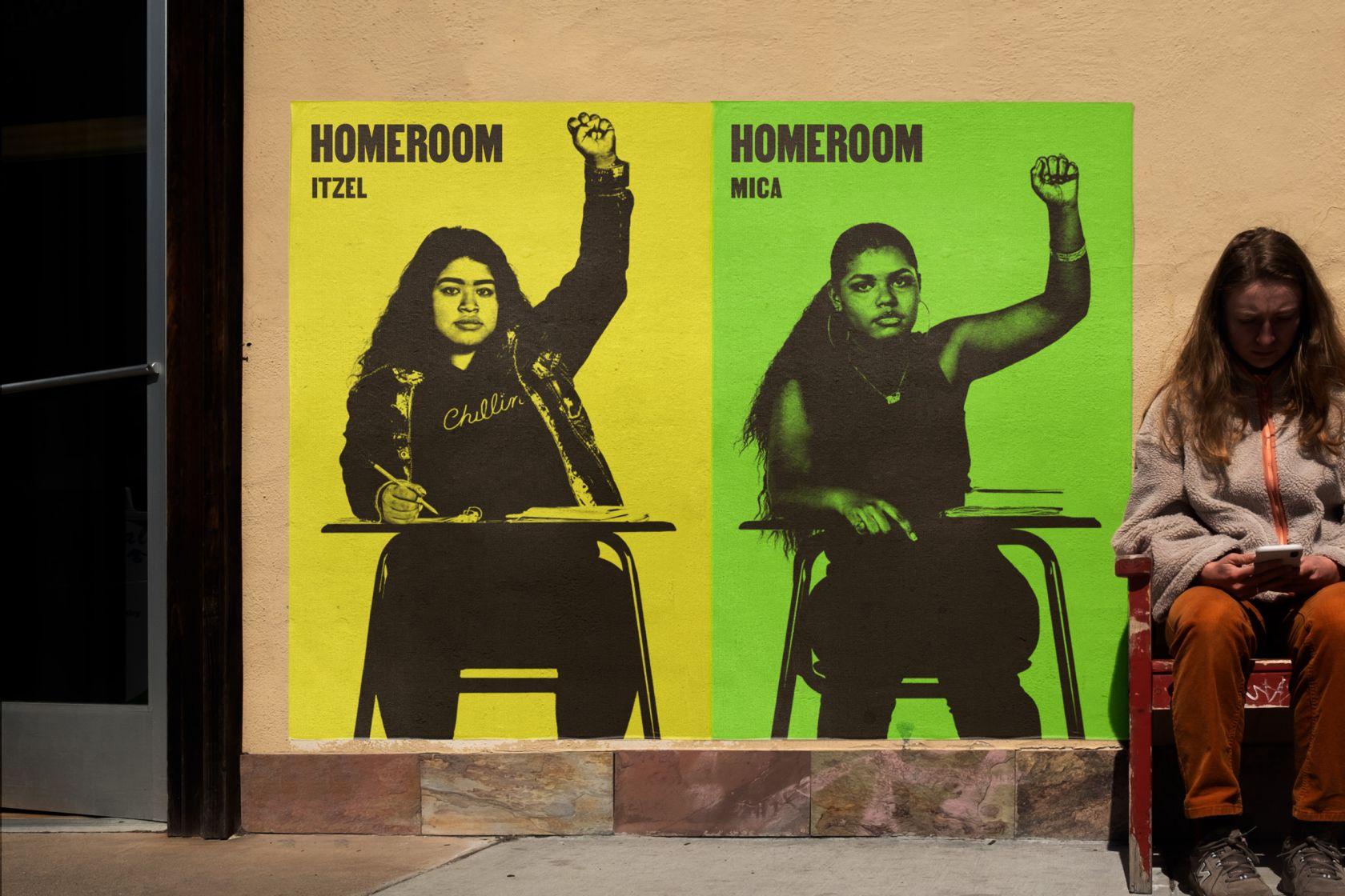 Studio Mucho's powerful campaign for Sundance-winning documentary Homeroom