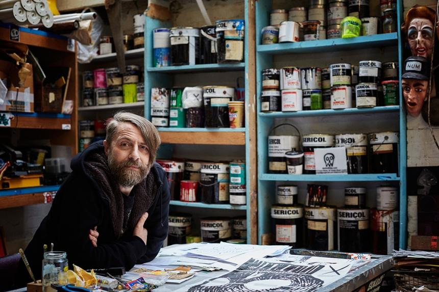 Dan Holliday, artist
