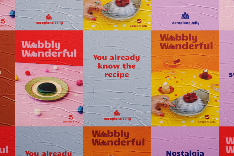 Campaign for Aeroplane Jelly by Van Low