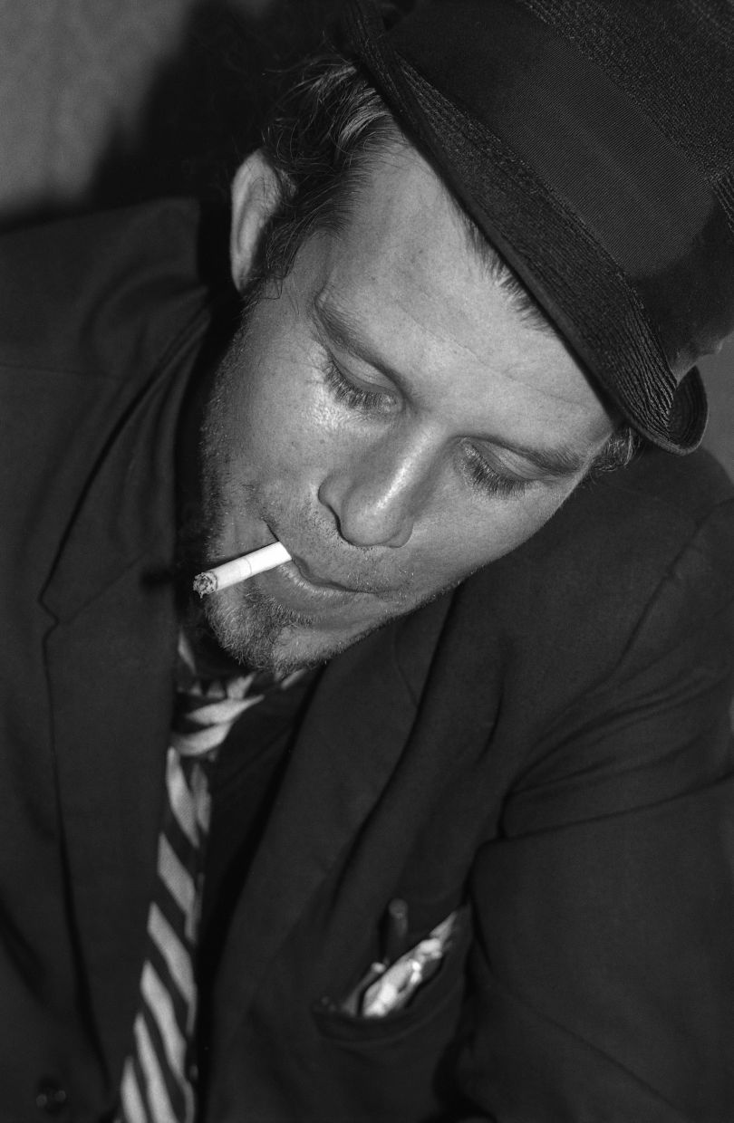 Tom Waits © Gary Green, from the book When Midnight Comes Around published by STANLEY/BARKER