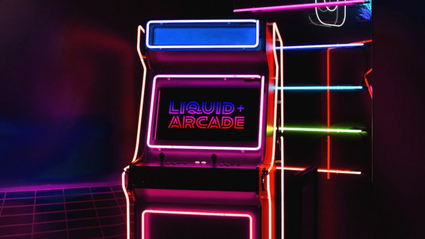 Ad agency Liquid+Arcade's new branding was inspired by retro gaming arcades