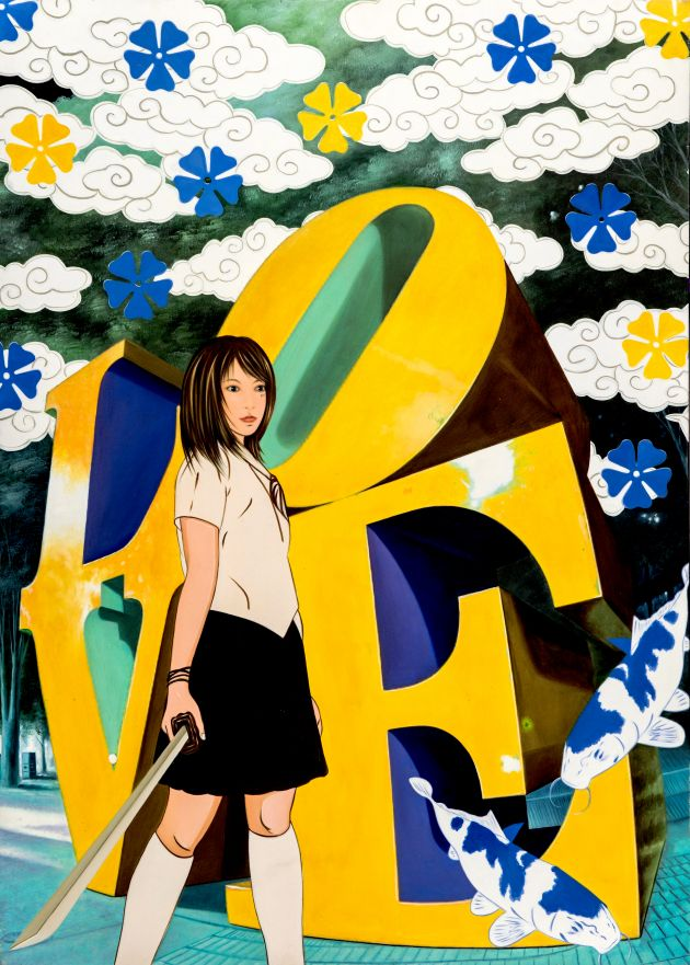 Love Yellow & Blu, 2010 © Hiro Ando