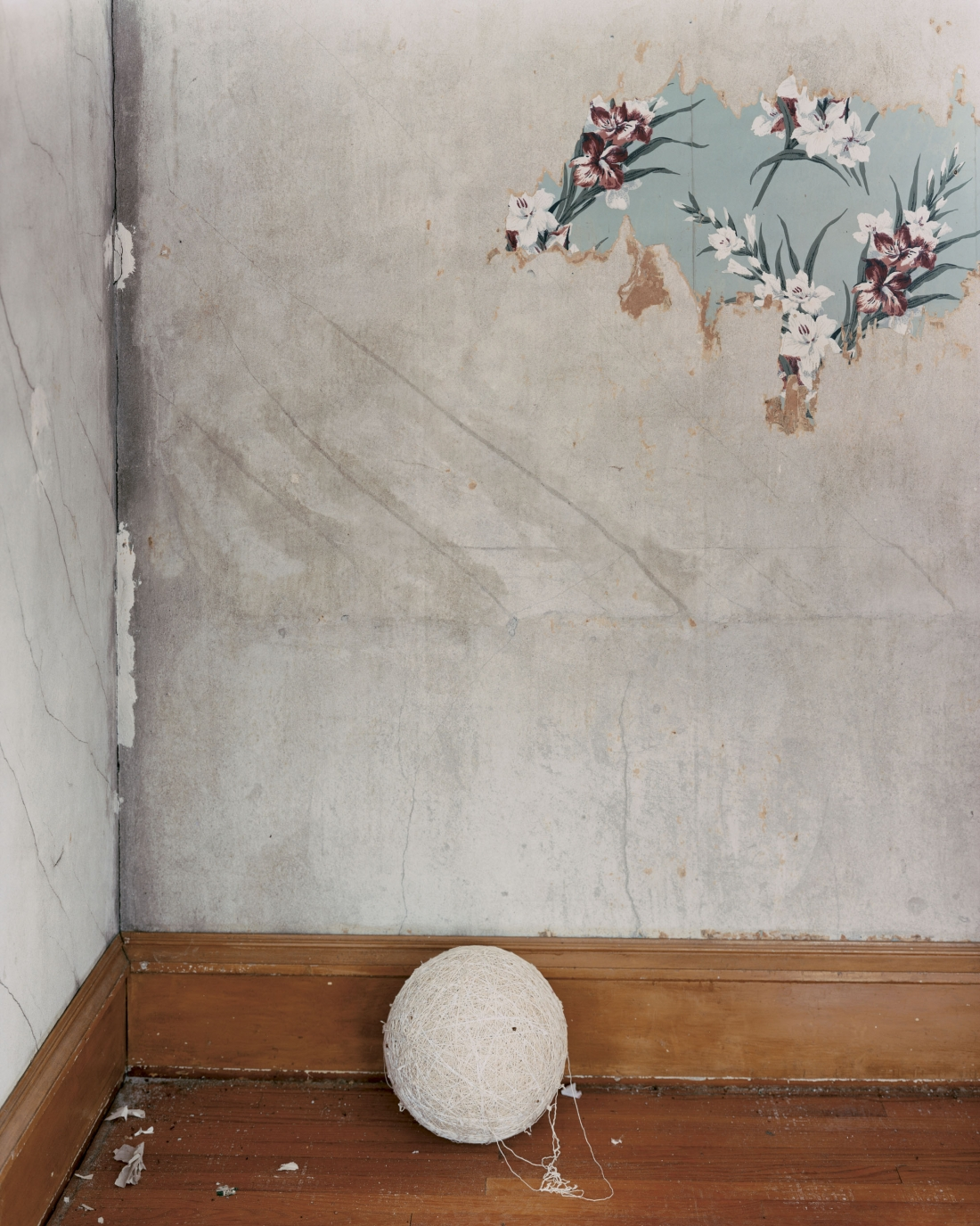 Green Island, Iowa (Ball of String), 2002 © Alec Soth / Magnum Photos courtesy Sean Kelly Gallery, New York and Beetles + Huxley Gallery, London
