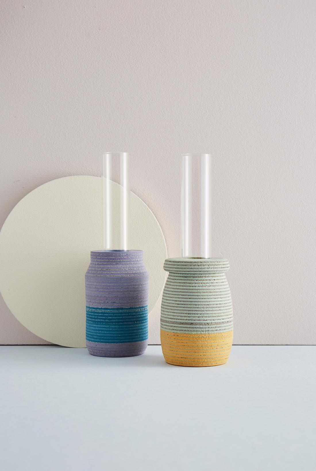 Single Stem Vase by Laura Jane Atkinson. Photography by Yeshen Venema