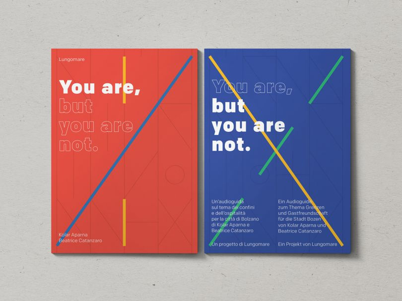 You Are But You Are Not by Kolar Aparna and artist Beatrice Catanzaro. Curated and produced by Lungomare. Source: [non-linear.com](https://www.non-linear.com/projects/you-are-but-you-are-not)