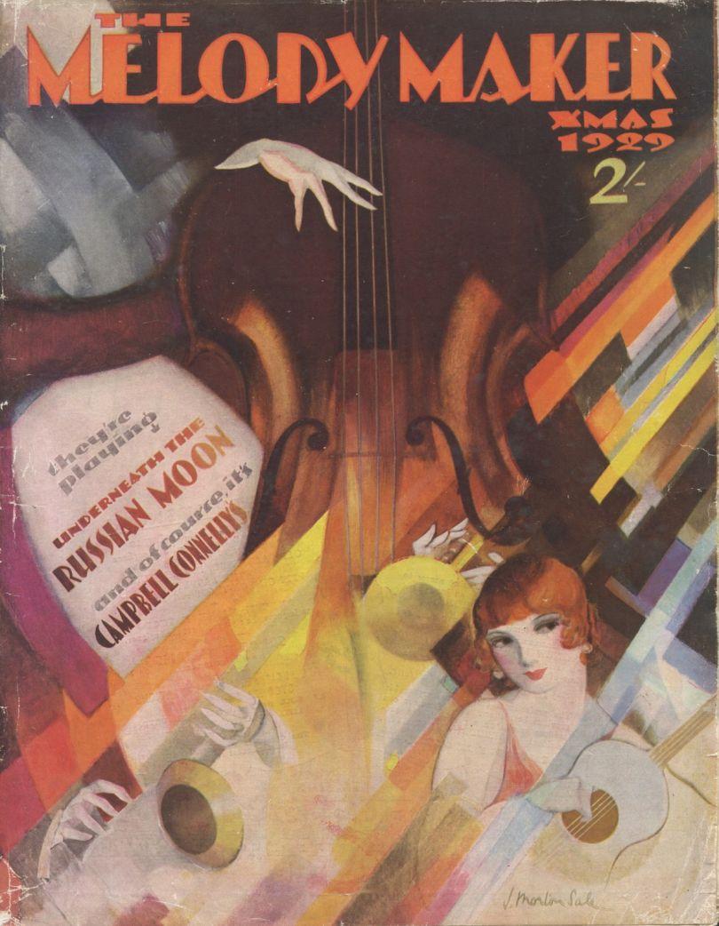 The Melody Maker, Xmas 1929 Printed Magazine, National Jazz Archive © Time Inc. (UK) Ltd, courtesy of the National Jazz Archive