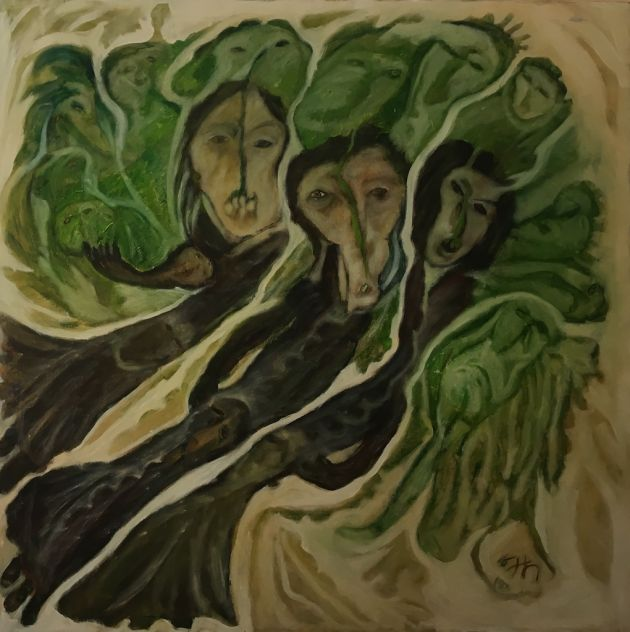 Kamala Ishaq, Three Trees (2016)