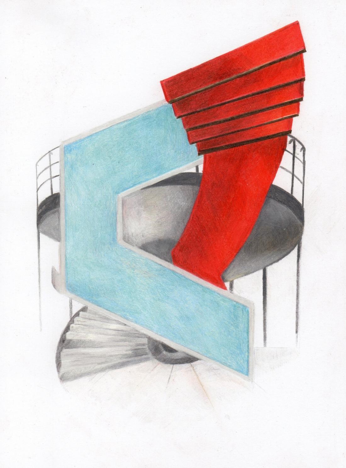 Jenny Steele, Stairwells 1933, 1937, 1938