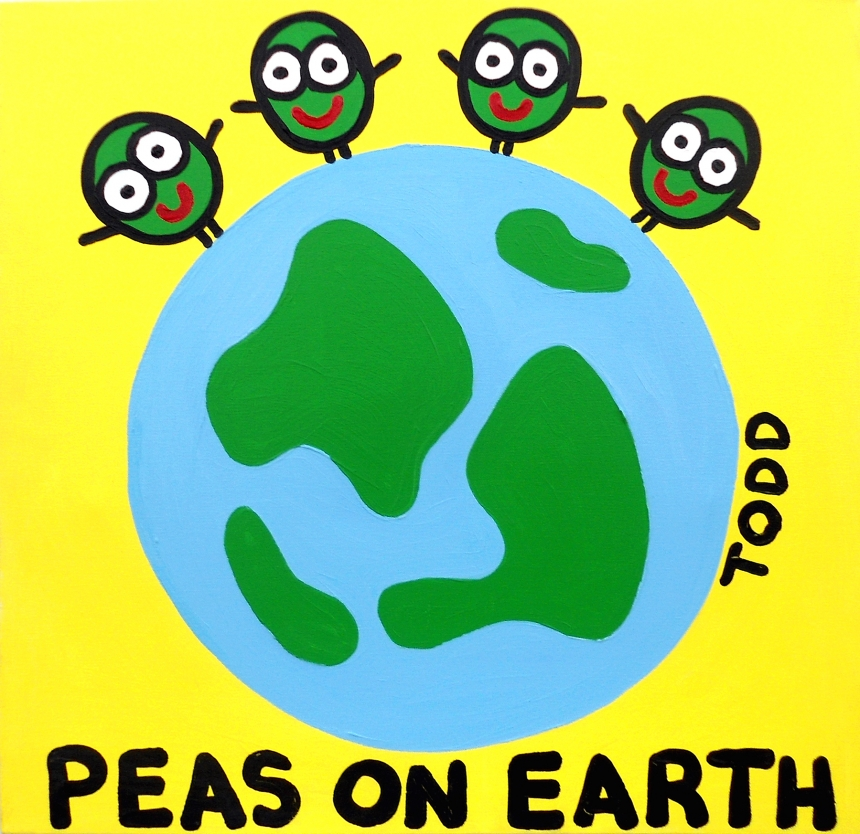 Peas on Earth | © Todd Goldman