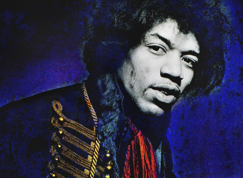 Gered Mankowitz, Jimi Hendrix, London 1967, C-type print, 50.8 x 61 cm, © Gered Mankowitz | Iconic Images