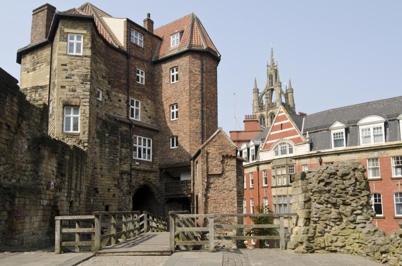A 12th Century castle in Newcastle. Image credit: [Shutterstock.com](http://www.shutterstock.com/)