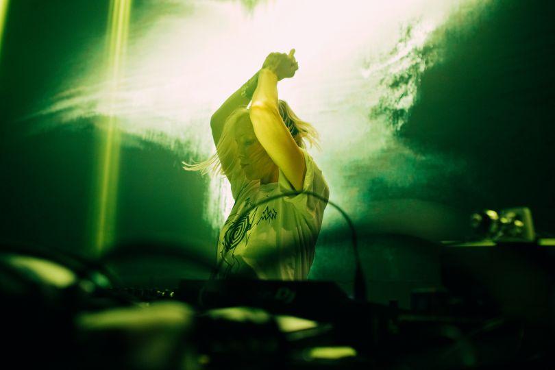 Jacob Khrist, La DJ et musicienne Ellen Allien, Festival N.A.M.E., Roubaix, 2017