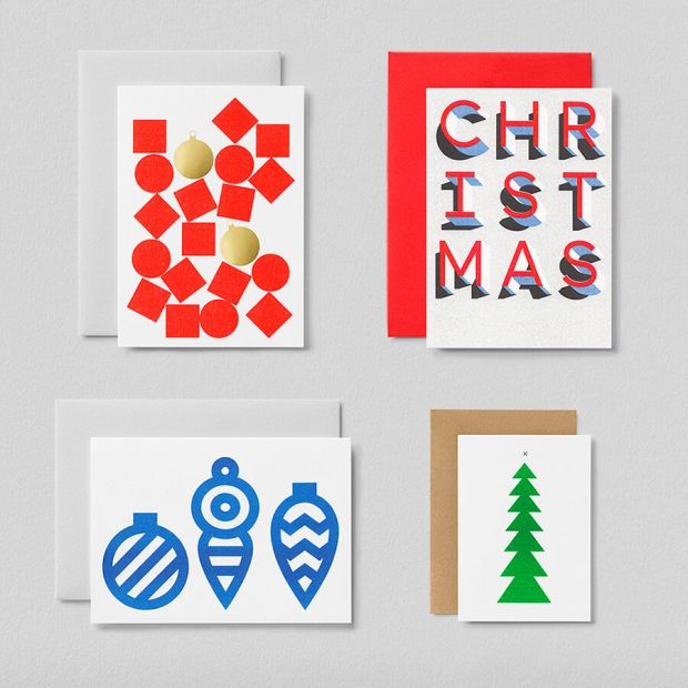 Christmas card bundle by Jot