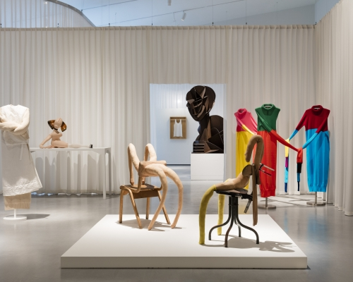 Installation shot of Disobedient Bodies: JW Anderson curates The Hepworth Wakefield. Photo: Lewis Ronald. Courtesy The Hepworth Wakefield.