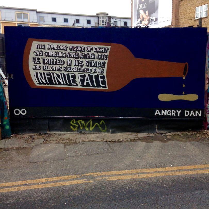Rivington Street Mural, 2019 © Angry Dan