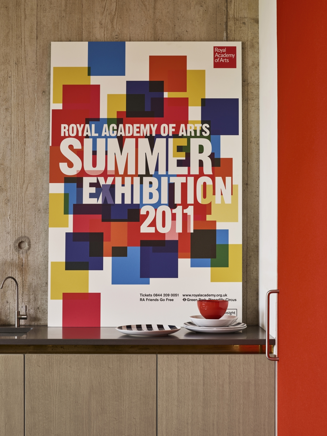 RA Summer Exhibition 2011 Epic Poster ​from the Royal Academy of Arts Collection