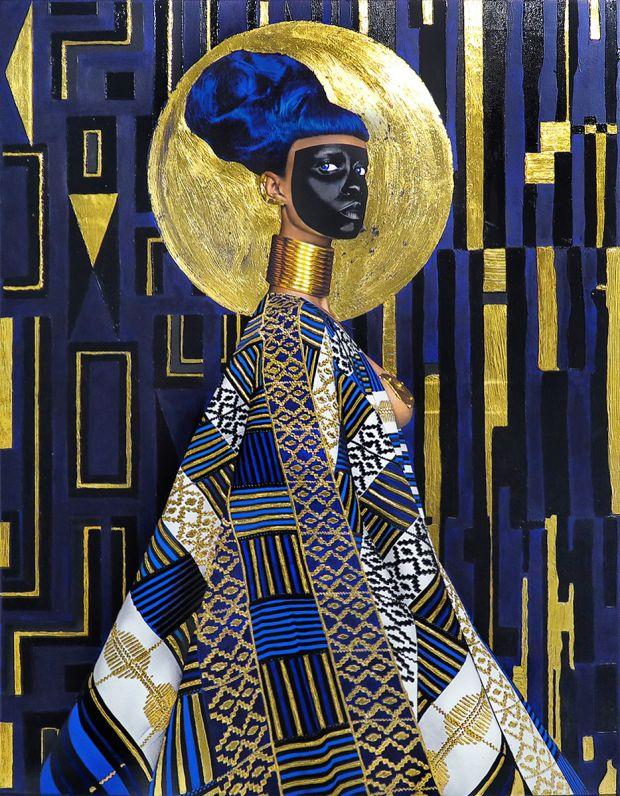 Lina Iris Viktor, Syzygy, 2015. Courtesy of the artist and Mariane Ibrahim Gallery. Copyright: © Lina Iris Viktor. Via Creative Boom submission.