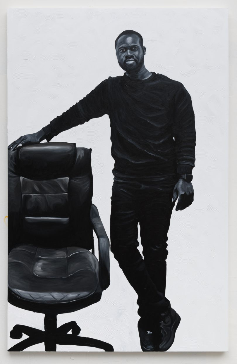 Otis Kwame Kye Quaicoe Portrait of Albert Sowah Anan, 2019. Courtesy of the Artist and Roberts Projects, Los Angeles, California