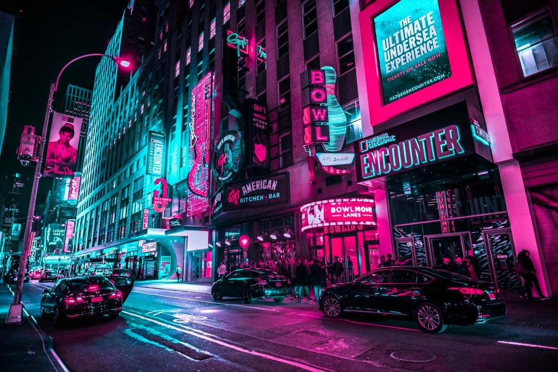 New York Glow Satisfying Neon Photography Series Of The