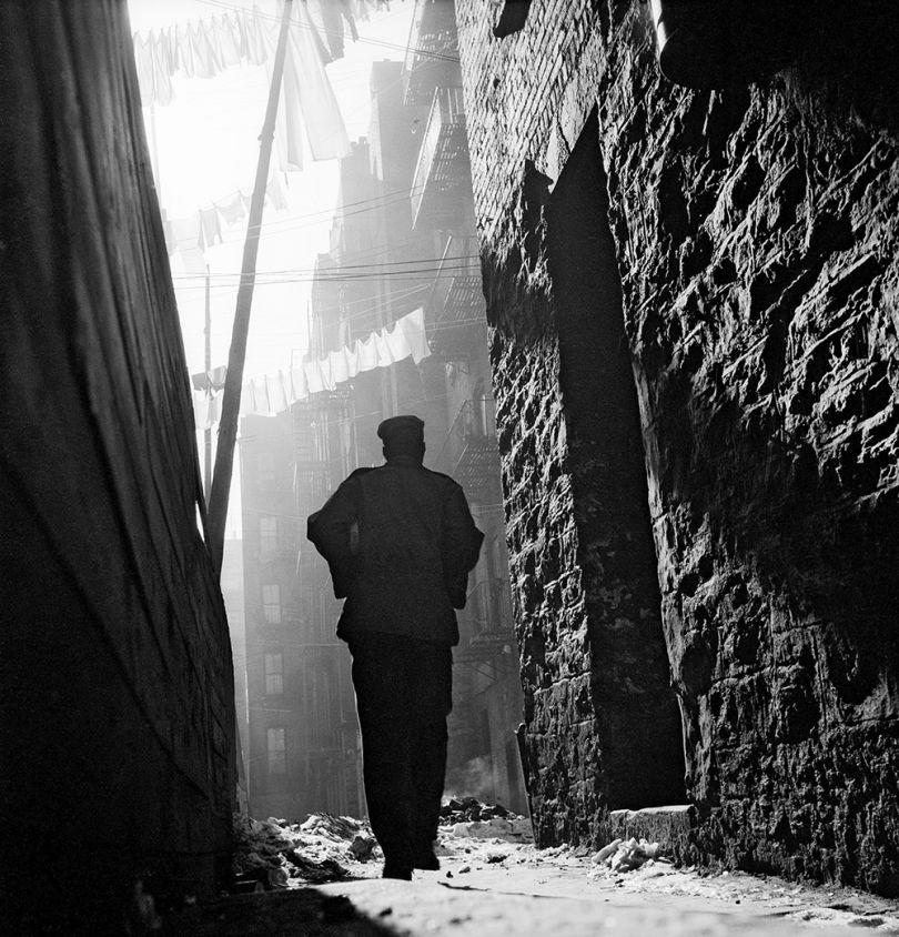 Gordon Parks. Off On My Own, Harlem, New York, 1948. The Gordon Parks Foundation.