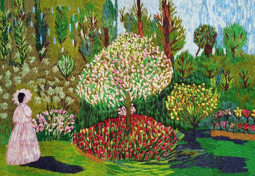 Inspired by Women in the Garden - Claude Monet