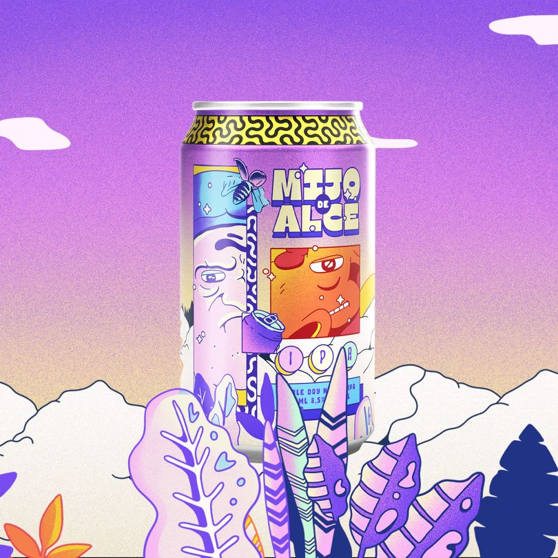 Moose Piss Beer by Bruno Cintra, winner in the Movie, Video and Animation Design Category, 2020-2021.