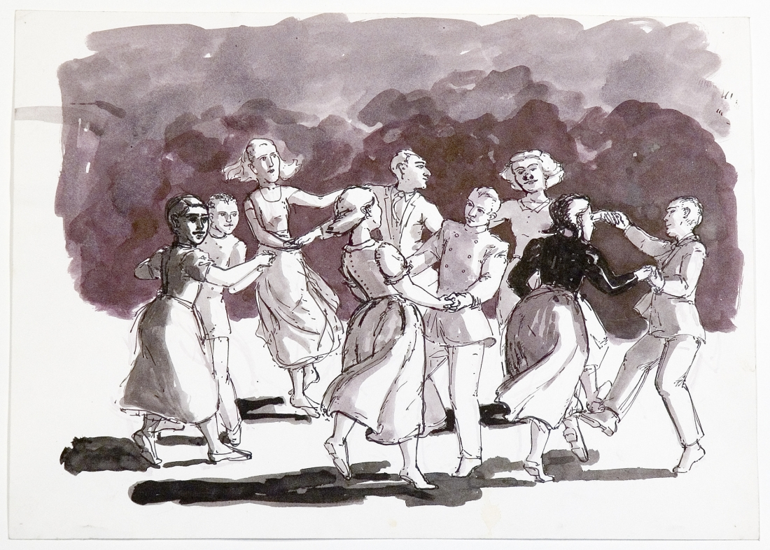 Paula Rego, Study for Children and their Stories, 1989, Private Collection © Paula Rego, courtesy Marlborough Fine Art