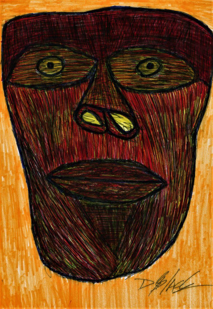 Self Portrait in the Age of Coronavirus © Darrell Black