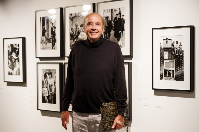 Photographer Frank Habicht with his work - © Tristan Fewings/ Getty Images