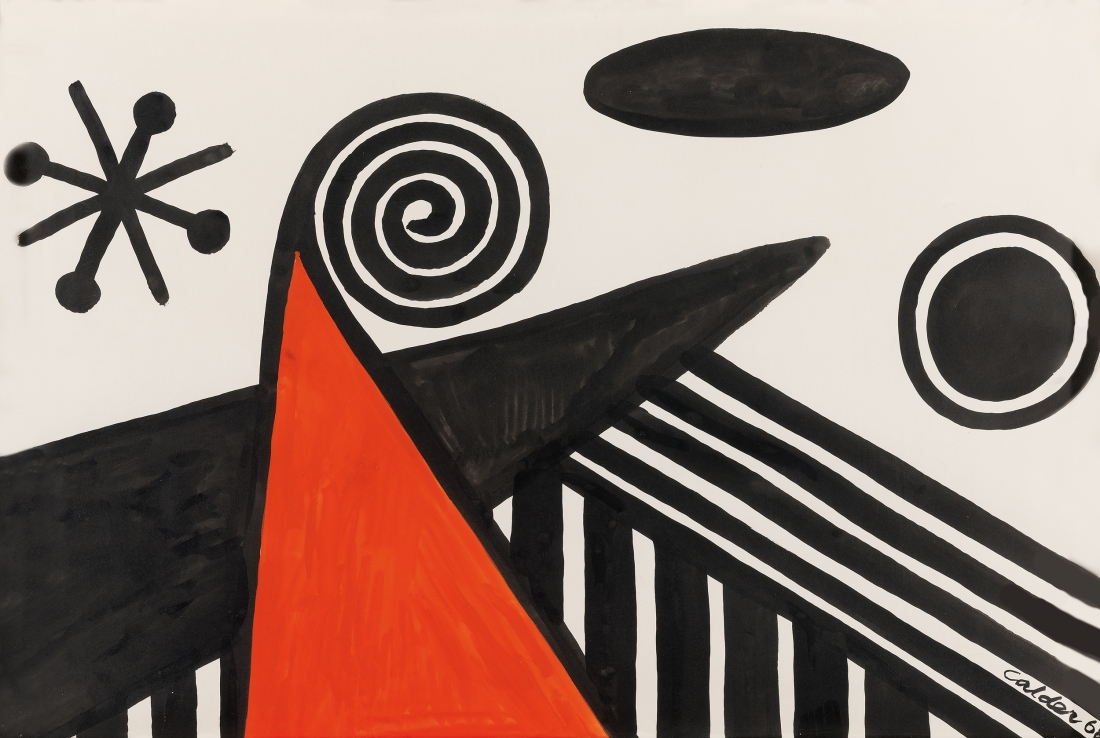 Black Anatomy, 1968 | Courtesy of Saatchi Gallery © Alexander Calder