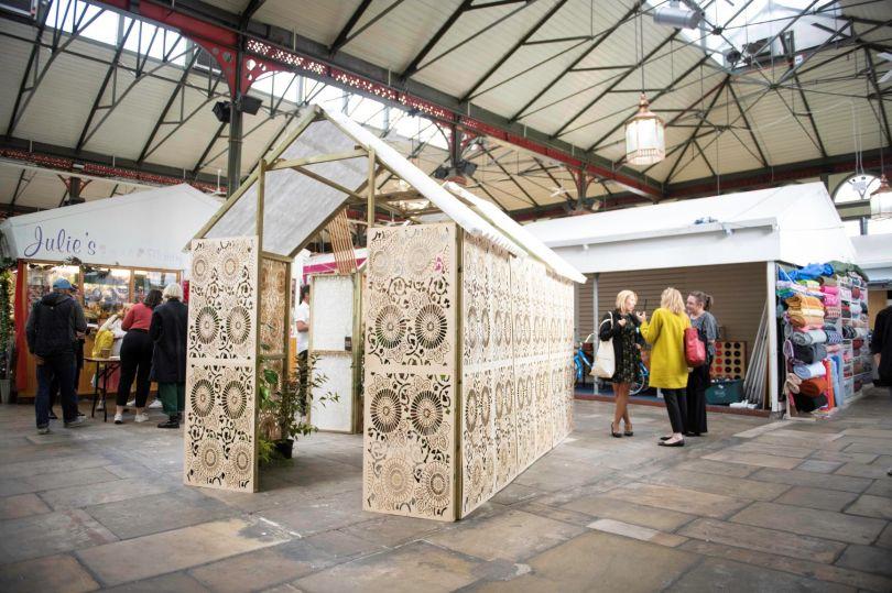 Green House at Darlington market. Image credit: Tracy Kidd
