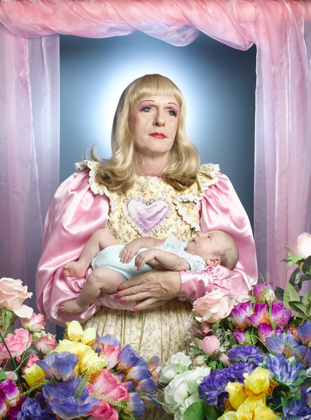 Grayson Perry - Birth by Richard Ansett. © Richard Ansett, United Kingdom, Shortlist, Open, Portraiture (Open competition), 2019 Sony World Photography Awards