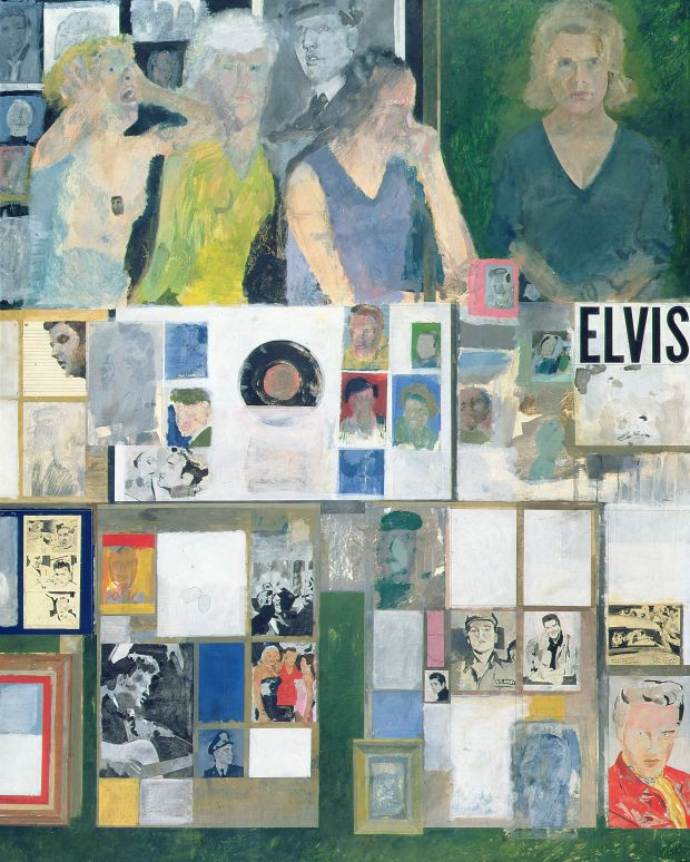 Peter Blake, Girls with their Hero, 1959  -  62, acrylic on board  , Pallant   House Gallery (Wilson Gift through The Art Fund, 2006)   © Peter Blake  .   All rights reserved, DACS 2018
