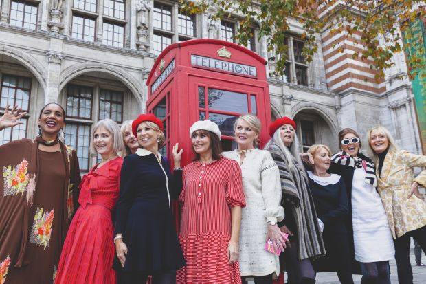 V&A's 60s revival on the streets of London.