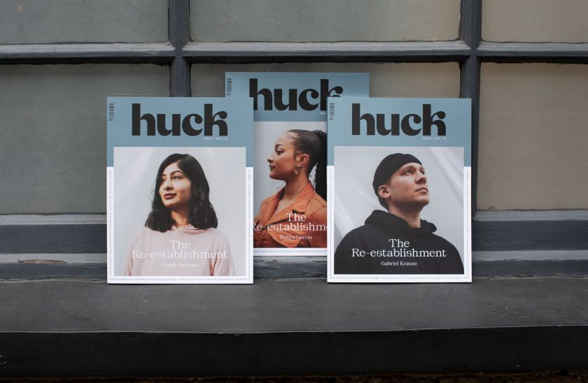 Huck magazine launches a new identity and design as it celebrates its 15th anniversary