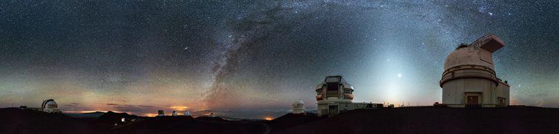 Winner: 'Night on the top of Mauna Kea' by Marek Kosiba/Photocrowd.com - Hawaii, United States