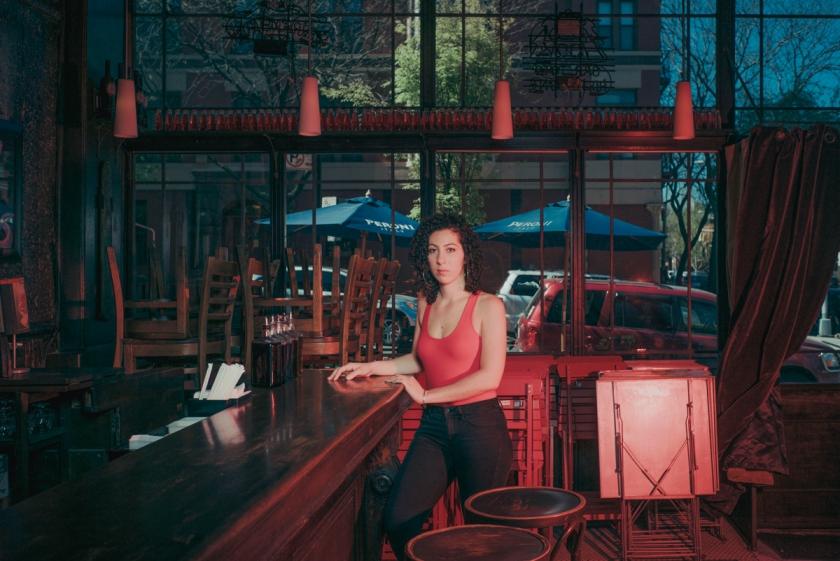 Leta Renée-Alan, actress & waitress at an Italian Restaurant