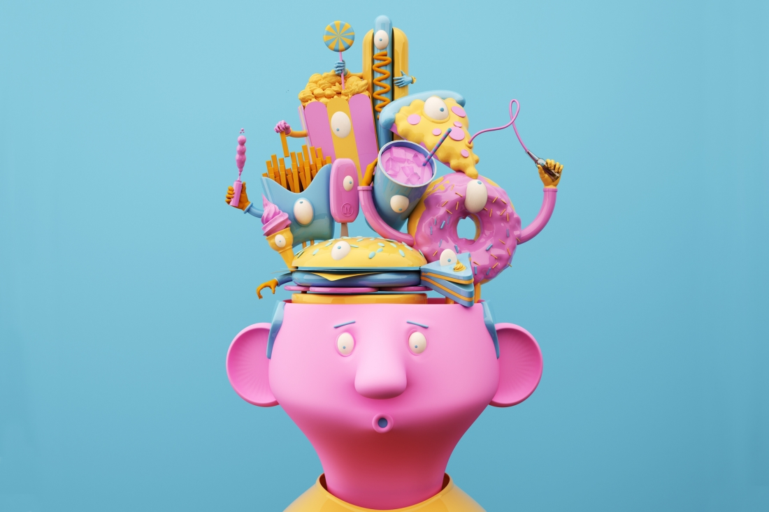 Design Lad's bold and playful 3D illustrations and ...