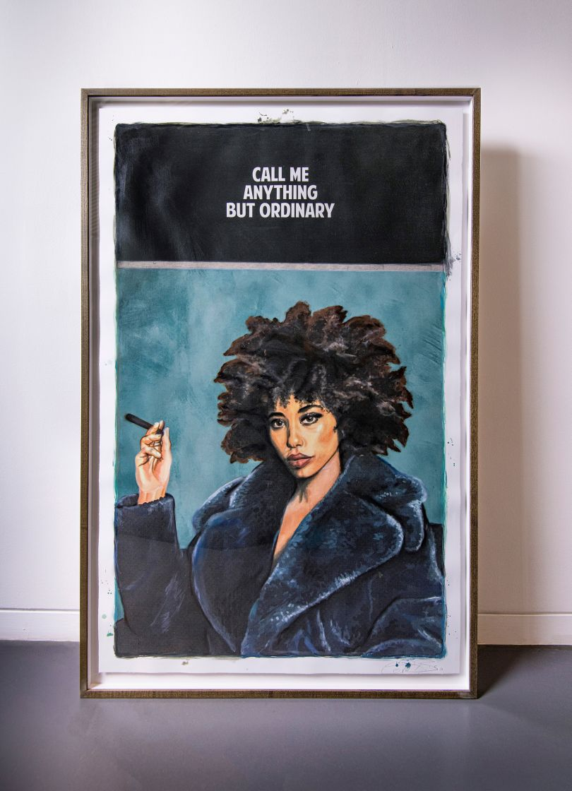 Call me Anything but Ordinary, a painting by The Connor Brothers