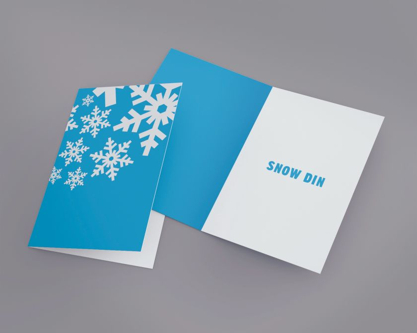 Snow Din by James Bristow